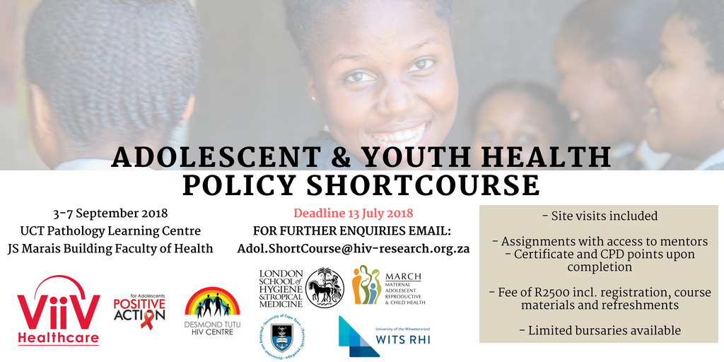 Adolescent Youth Health Policy Short Course